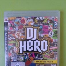Videojuegos y Consolas: DJ HERO PS3. Lote 162746742