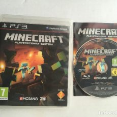 Videojuegos y Consolas: MINECRAFT PS3 PLAYSTATION 3 PLAY STATION 3 KREATEN. Lote 162793838