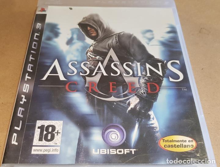 PLAYSTATION 3 / ASSASSIN'S CREED / UBISOFT / COMPLETO EN CASTELLANO / COMO NUEVO. (Juguetes - Videojuegos y Consolas - Sony - PS3)