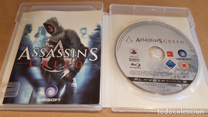 Videojuegos y Consolas: PLAYSTATION 3 / ASSASSIN'S CREED / UBISOFT / COMPLETO EN CASTELLANO / COMO NUEVO. - Foto 2 - 163025938