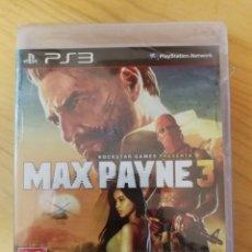 Videojuegos y Consolas: MAX PAYNE 3-PS3-NUEVO. Lote 163786118