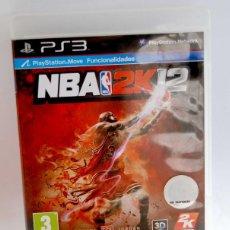 Videojuegos y Consolas: NBA 2K12 PARA PS3 PLYSTATION 3 PLAY STATION 2K 12 2 K. Lote 163973718