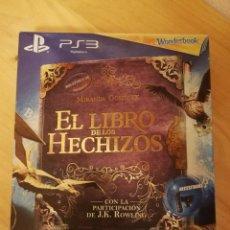 Videojuegos y Consolas: PS3 - JUEGO EL LIBRO DE LOS HECHIZOS + WONDERBOOK - NUEVO. Lote 163998022
