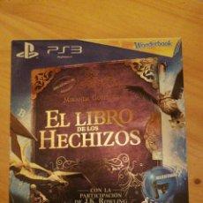 Videojuegos y Consolas: PS3 - JUEGO EL LIBRO DE LOS HECHIZOS + WONDERBOOK - NUEVO. Lote 163998334