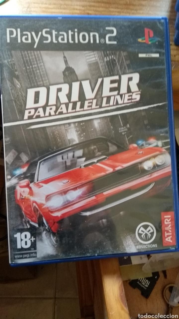 DRIVER PARALLEL LINES PLAYSTATION 2 DISCO CON ARAÑAZOS (Juguetes - Videojuegos y Consolas - Sony - PS3)