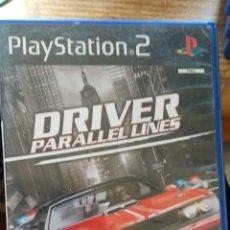 Videojuegos y Consolas: DRIVER PARALLEL LINES PLAYSTATION 2 DISCO CON ARAÑAZOS. Lote 164919753
