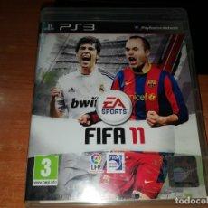 Videojuegos y Consolas: FIFA 11 PLAYSTATIONS 3 JUEGO PS3 2011 ESPAÑA. Lote 165243670