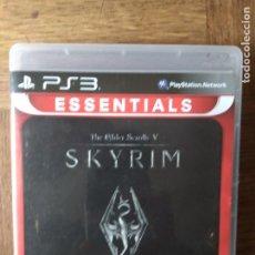 Videojuegos y Consolas: SKYRIM, THE ELDER SCROLLS V - PS3 PLAYSTION 3 PAL -. Lote 165494102