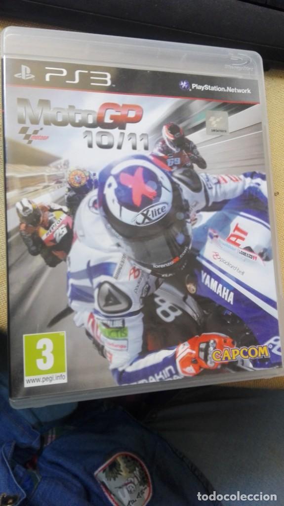 MOTO GP 10/11 - PS3 CON MANUAL DE INSTRUCCIONES (Juguetes - Videojuegos y Consolas - Sony - PS3)