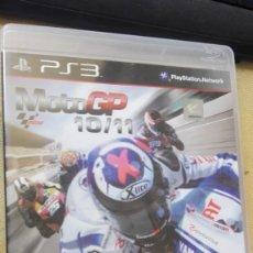 Videojuegos y Consolas: MOTO GP 10/11 - PS3 CON MANUAL DE INSTRUCCIONES. Lote 165611486