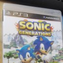Videojuegos y Consolas: SONIC GENERATIONS (PS3). Lote 165611890