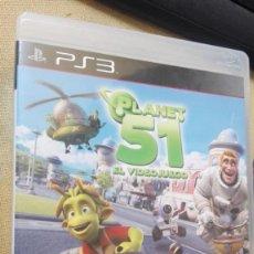 Videojuegos y Consolas: PS3 PLANET 51. Lote 165612590