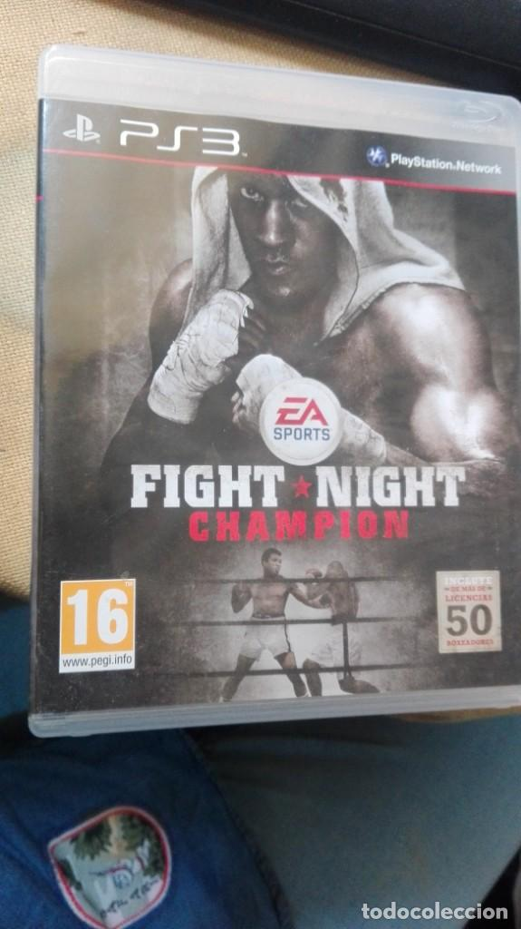 PS3 FIGHT NIGTH CHAMPION (Juguetes - Videojuegos y Consolas - Sony - PS3)