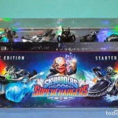 Videojuegos y Consolas: SKYLANDERS SUPERCHARGES PS3 DARK EDITION STARTER PACK IMPECABLE ESTADO PLAYSTATION. Lote 165731150