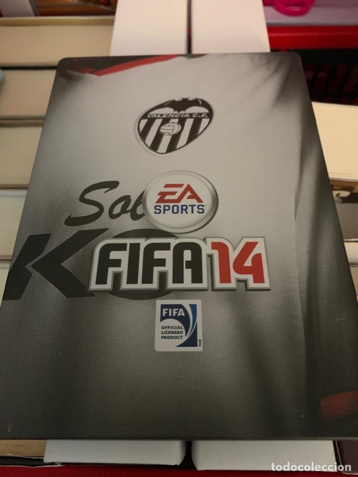 CARATULA FIFA 14 VALENCIA C.F. METALICA (Juguetes - Videojuegos y Consolas - Sony - PS3)