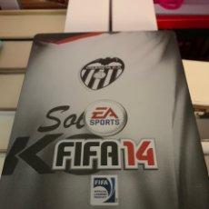 Videojuegos y Consolas: CARATULA FIFA 14 VALENCIA C.F. METALICA. Lote 166181814