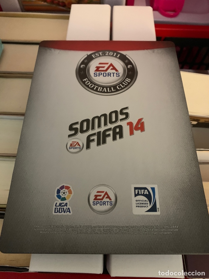 Videojuegos y Consolas: CARATULA FIFA 14 VALENCIA C.F. METALICA - Foto 2 - 166181814