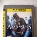 Videojuegos y Consolas: ASSASSIN´S CREED (PLATINUM) • PLAYSTATION 3 (PS3) . Lote 167514512