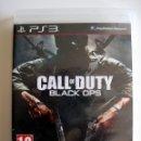 Videojuegos y Consolas: CALL OF DUTY: BLACK OPS • PS3 (PLAYSTATION 3) • PAL. Lote 167515364