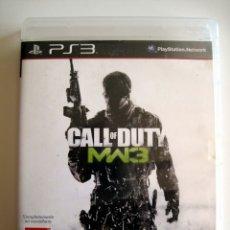 Videojuegos y Consolas: CALL OF DUTY: MODERN WARFARE 3 (MW3) • PS3 (PLAYSTATION 3) • PAL. Lote 167516120