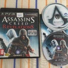 Videojogos e Consolas: ASSASSIN'S CREED REVELATIONS ASSASSIN ASSASSINS CREEDS PS3 PLAY STATION 3 PLAYSTATION 3 KREATEN. Lote 168047048