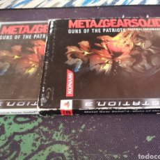 Videojuegos y Consolas: METAL GEAR SOLID 4 : GUNS OF THE PATRIOTS (PAL ESPAÑA COMPLETO). Lote 168086126