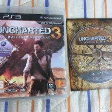 Videojogos e Consolas: UNCHARTED 3 LA TRAICION DE DRAKE PS3 PLAYSTATION 3 PLAY STATION 3 KREATEN. Lote 168087888