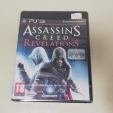 Videojuegos y Consolas: J6- ASSASSINS CREED REVELATIONS PS3 VERSION ESPAÑOLA NUEVO PRECINTADO. Lote 168088076