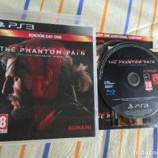 Videojogos e Consolas: METAL GEAR SOLID V THE PHANTOM PAIN 5 MGS PS3 PLAYSTATION 3 PLAY STATION 3 KREATEN. Lote 168152304