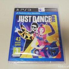 Videojuegos y Consolas: J6- JUST DANCE 2016 PS3 VERSION ESPAÑOLA NUEVO PRECINTADO. Lote 168479072