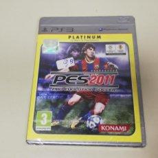 Videojuegos y Consolas: J6- PES 2011 PRO EVOLUTION SOCCER PS3 VERSION PLATINUM ESPAÑOLA NUEVO PRECINTADO 3. Lote 168591960