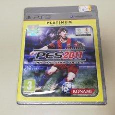 Videojuegos y Consolas: J6- PES 2011 PRO EVOLUTION SOCCER PS3 VERSION PLATINUM ESPAÑOLA PRECINTADO 1. Lote 168592164