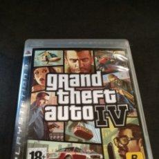 Videojuegos y Consolas: PS3 GRAND THEFT AUTO IV. Lote 168742476