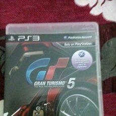 Videojuegos y Consolas: GRAN TURISMO 5 PS3. Lote 168838368