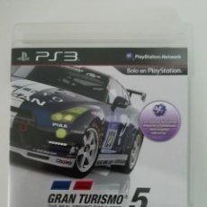 Videojuegos y Consolas: PS3 GRAN TURISMO 5. Lote 169150680