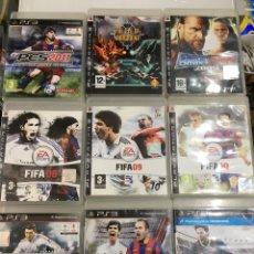 Videojuegos y Consolas: LOTE 9 JUEGOS PS3. Lote 169651853