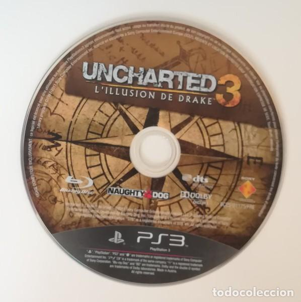 UNCHARTED 3. PLAYSTATION 3 PS3 PAL DRAKE NAUGHTY DOG. SOLO DISCO (Juguetes - Videojuegos y Consolas - Sony - PS3)