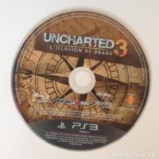 Videojuegos y Consolas: UNCHARTED 3. PLAYSTATION 3 PS3 PAL DRAKE NAUGHTY DOG. SOLO DISCO. Lote 169728880
