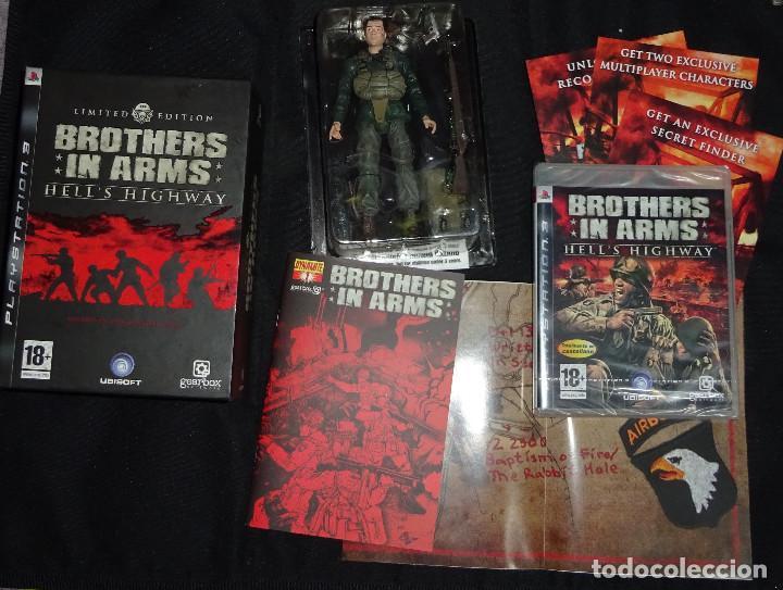 JUEGO PS3 BROTHERS IN ARMS: HELL'S HIGHWAY LIMITED EDITION EDICION LIMITADA - COMPLETO - NUEVO (Juguetes - Videojuegos y Consolas - Sony - PS3)