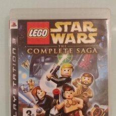 Videojuegos y Consolas: LEGO STAR WARS THE COMPLETE SAGA PARA PS3 EN ESPAÑOL COMPLETO. Lote 170960308