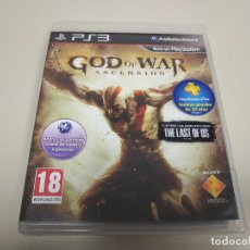 Videojuegos y Consolas: JJ- GOD OF WAR ASCENSION PS3 VERSION ESPAÑA DESPRECINTADO PROCEDE STOCK TIENDA. Lote 171120063