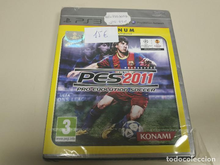 JJ- PES 2011 PLATINUM PS3 VERSION ESPAÑA PRECINTADO PROCEDE STOCK TIENDA (Juguetes - Videojuegos y Consolas - Sony - PS3)