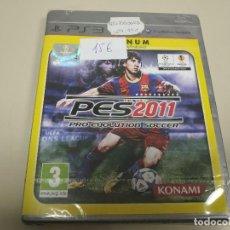 Videojuegos y Consolas: JJ- PES 2011 PLATINUM PS3 VERSION ESPAÑA PRECINTADO PROCEDE STOCK TIENDA. Lote 171120344