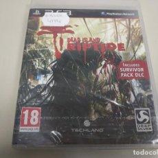 Videojuegos y Consolas: JJ- DEAD ISLAND RIPTIDE PS3 VERSION ESPAÑA PRECINTADO PROCEDE STOCK TIENDA. Lote 171120532