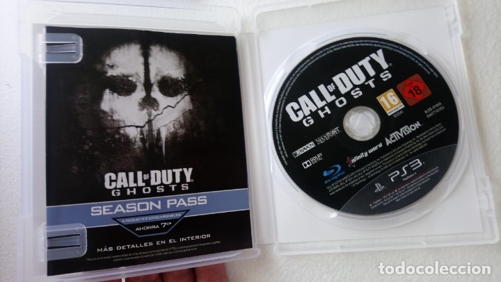Videojuegos y Consolas: Call of duty ghosts play station 3 ps3 - Foto 2 - 171240264