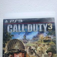 Videojuegos y Consolas: CALL OF DUTY 3 PLAY STATION 3 PS3. Lote 171240369