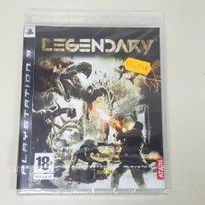 Videojuegos y Consolas: JJ- LEGENDARY PS3 PAL ESPAÑA STOCK TIENDA NUEVO PRECINTADO . Lote 171583228