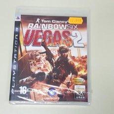 Videojuegos y Consolas: JJ- CLANCYS RAINBOW SIX VEGAS 2 PS3 PAL ESPAÑA STOCK TIENDA NUEVO PRECINTADO. Lote 171583518