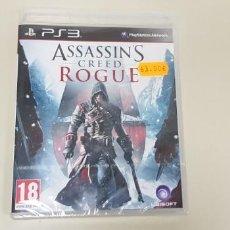Videojuegos y Consolas: JJ- ASSASINS CREED ROGUE PS3 PAL ESPAÑA NUEVO PRECINTADO . Lote 171586714