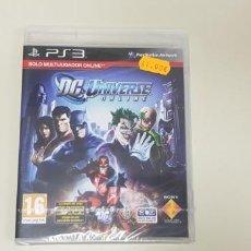 Videojuegos y Consolas: JJ- DC UNIVERSE ONLINE PS3 PAL ESPAÑA NUEVO PRECINTADO . Lote 171599467